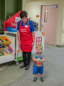 Find out how we help families inside the hospital